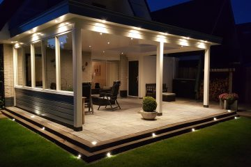 Moderne veranda met lichtstraat te Dronten4