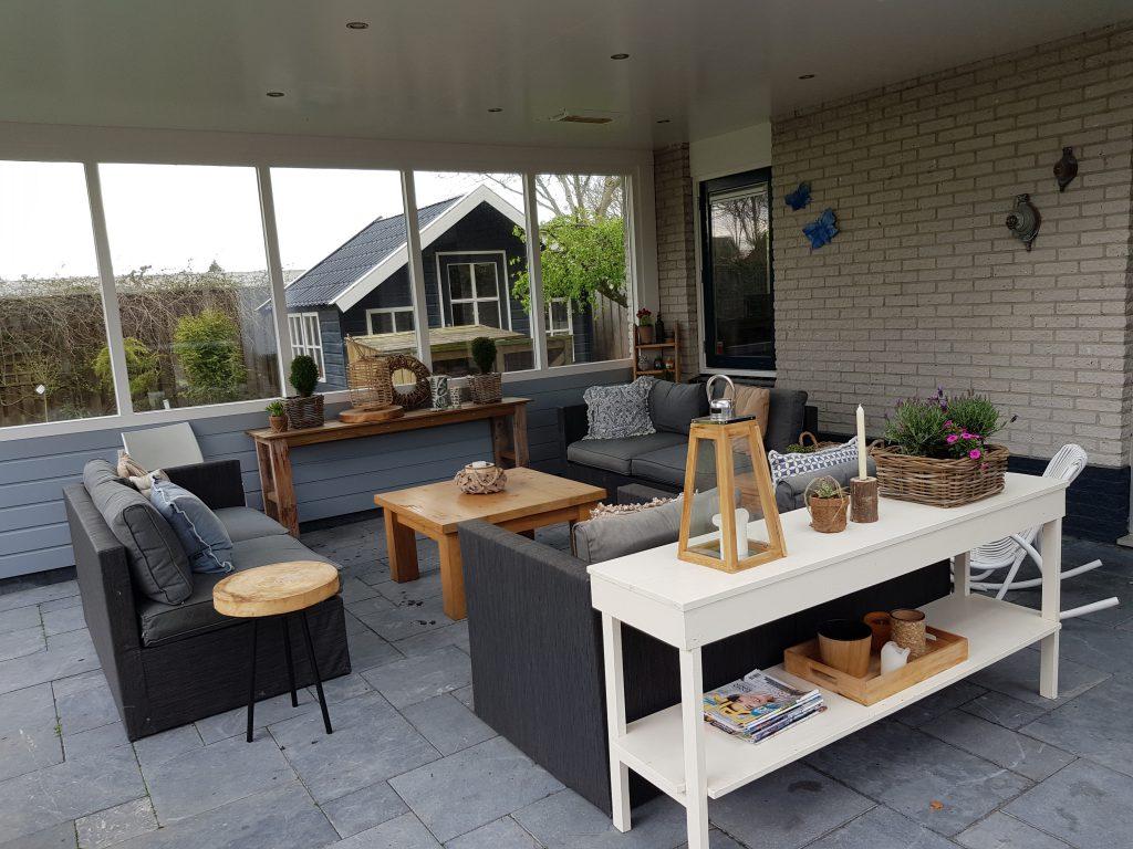Moderne veranda met lichtstraat te Dronten6