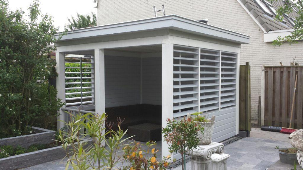 Exclusieve veranda met shutters te Ede-005