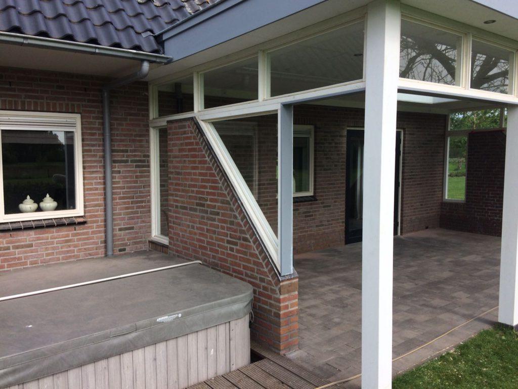 Exclusieve veranda met bovenramen te Nijkerk-002