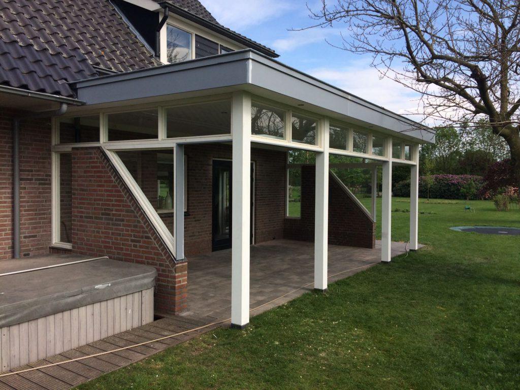 Exclusieve veranda met bovenramen te Nijkerk-001