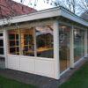 Luxe veranda met glazen schuifwanden te Denekamp3