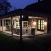 Luxe veranda met glazen schuifwanden te Denekamp4