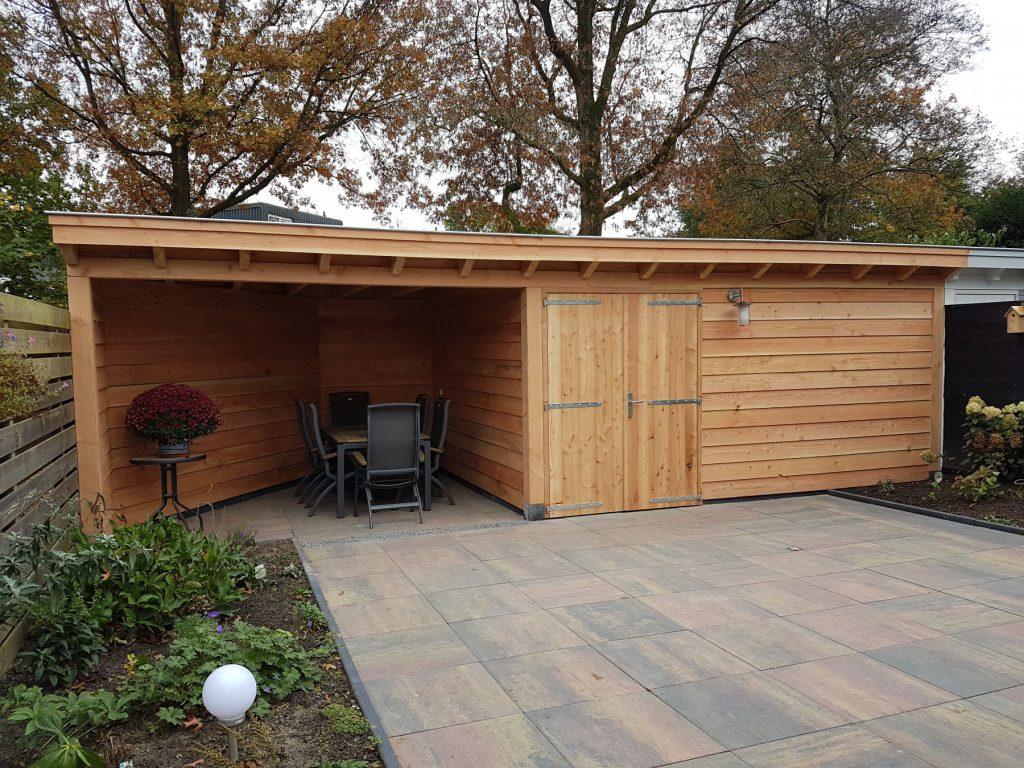 Klassieke veranda met schuur te Leusden-001