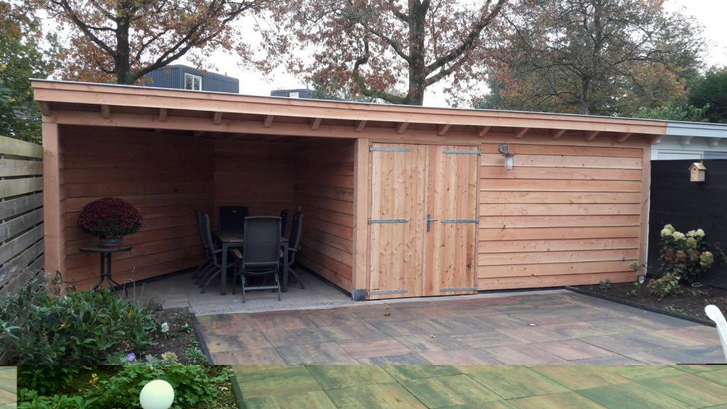 Klassieke veranda met schuur te Leusden-004