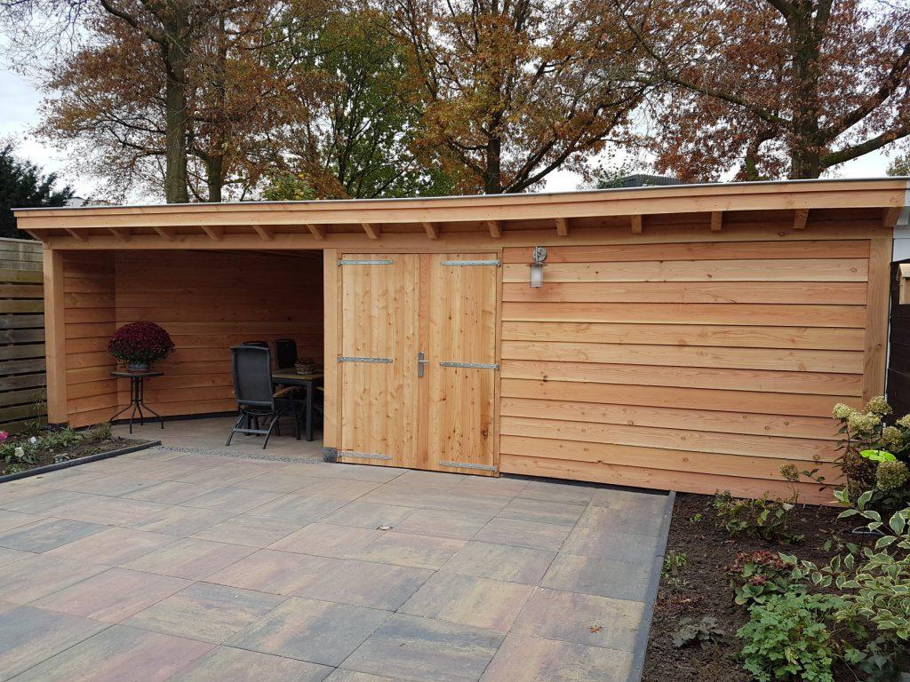 Klassieke veranda met schuur te Leusden-009