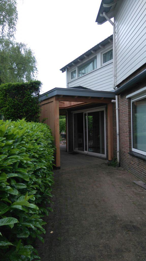 Landelijke veranda met lichtstraat te Ede-014