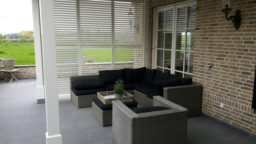 Landelijke veranda met lichtstraat te Gouda-009