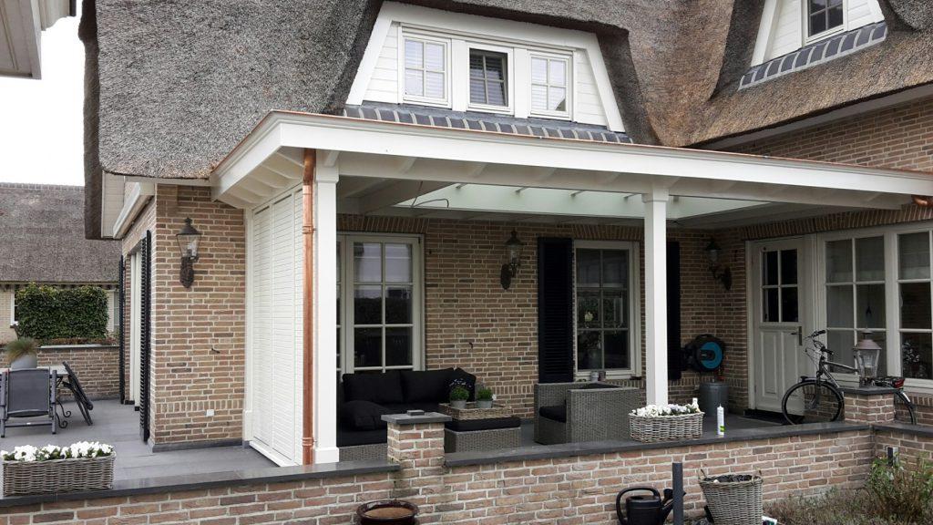 Landelijke veranda met lichtstraat te Gouda-013