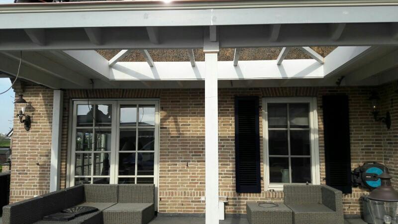 Landelijke veranda met lichtstraat te Gouda-021