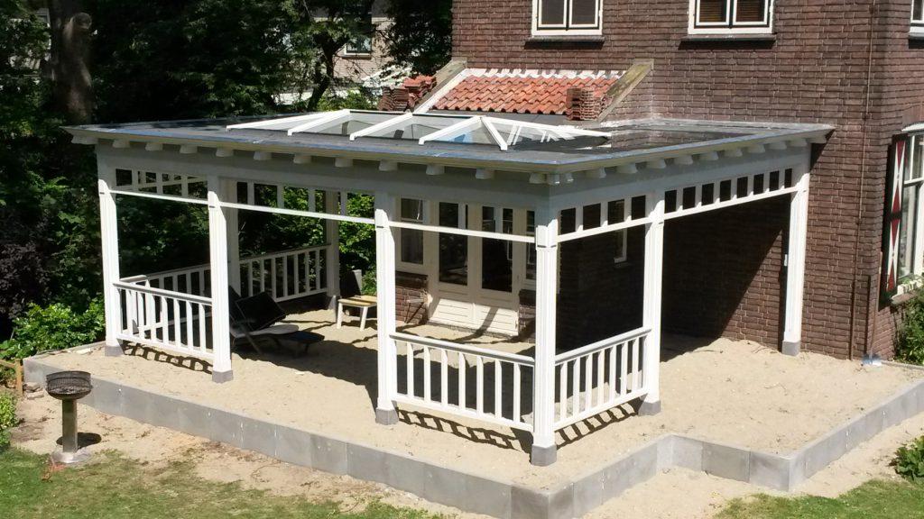 Luxe Veranda met lichtstraat te Dordrecht-010