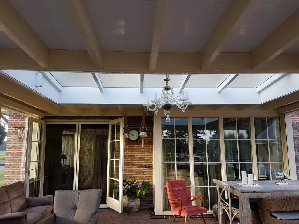 Luxe veranda met lichtstraat te Terschuur-001