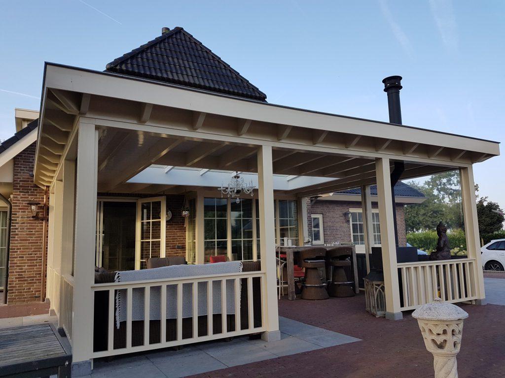 Luxe veranda met lichtstraat te Terschuur-003