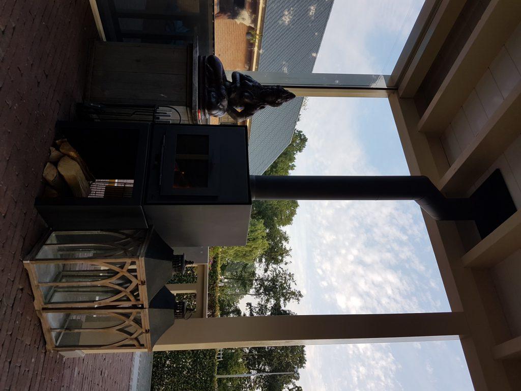 Luxe veranda met lichtstraat te Terschuur_013