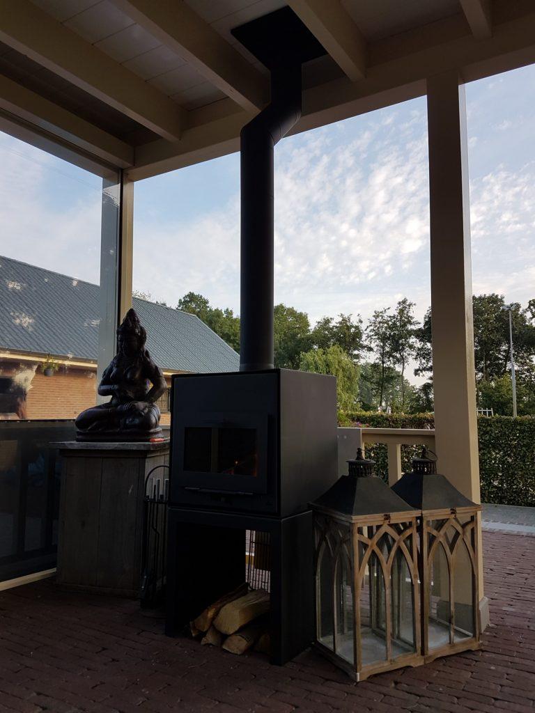 Luxe veranda met lichtstraat te Terschuur-013