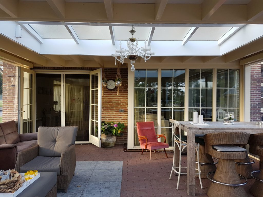 Luxe veranda met lichtstraat te Terschuur-014