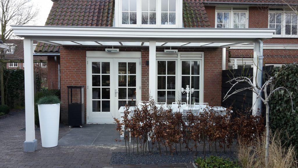Moderne veranda met glazen dak te Den Haag-003