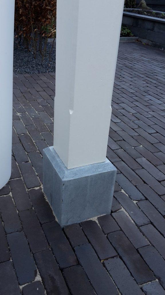 Moderne veranda met glazen dak te Den Haag-008