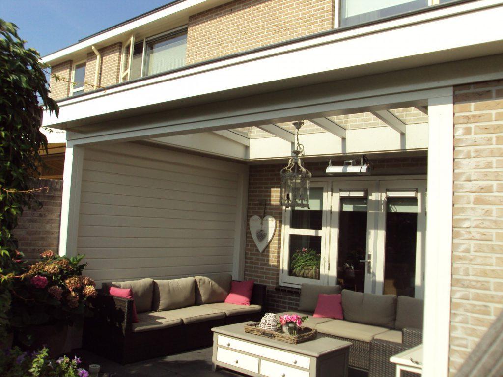 Moderne veranda met lichtstraat te Barneveld-002