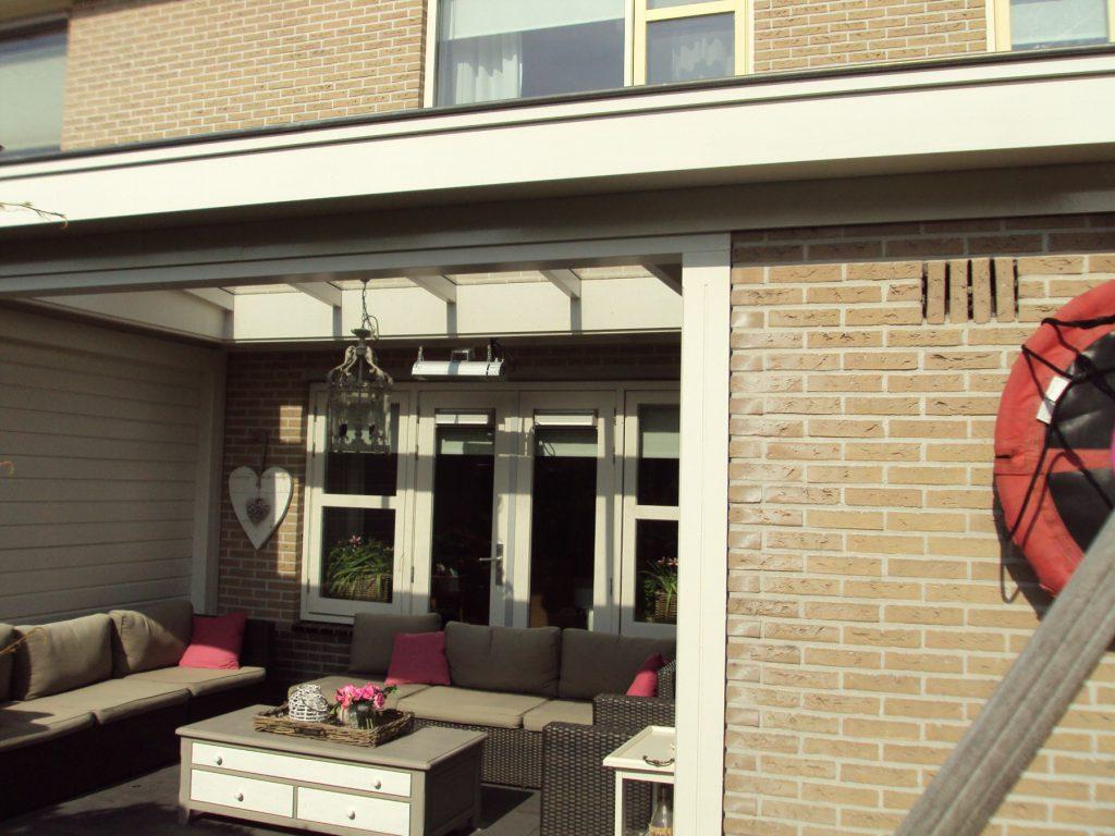 Moderne veranda met lichtstraat te Barneveld-003