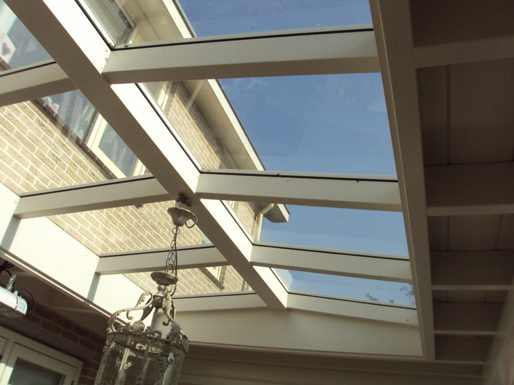 Moderne veranda met lichtstraat te Barneveld-005