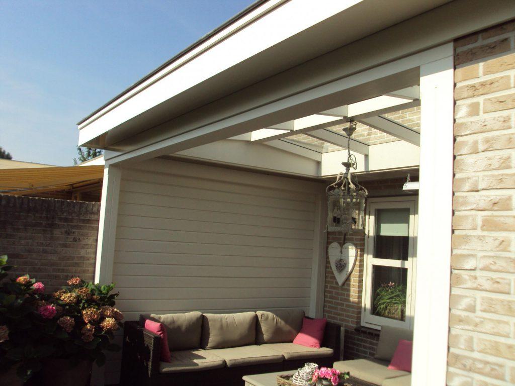 Moderne veranda met lichtstraat te Barneveld-007