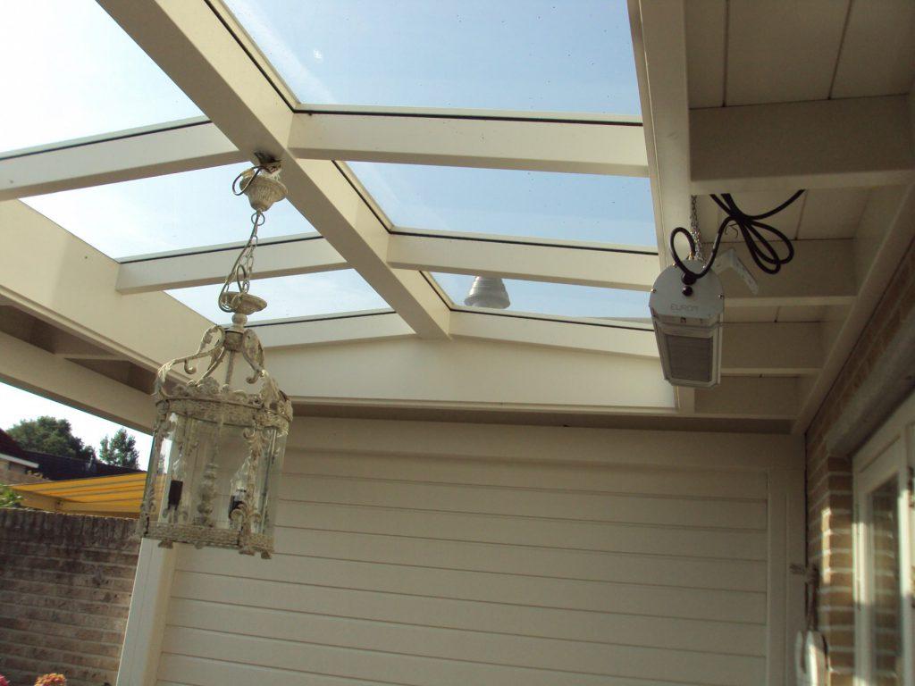 Moderne veranda met lichtstraat te Barneveld-008