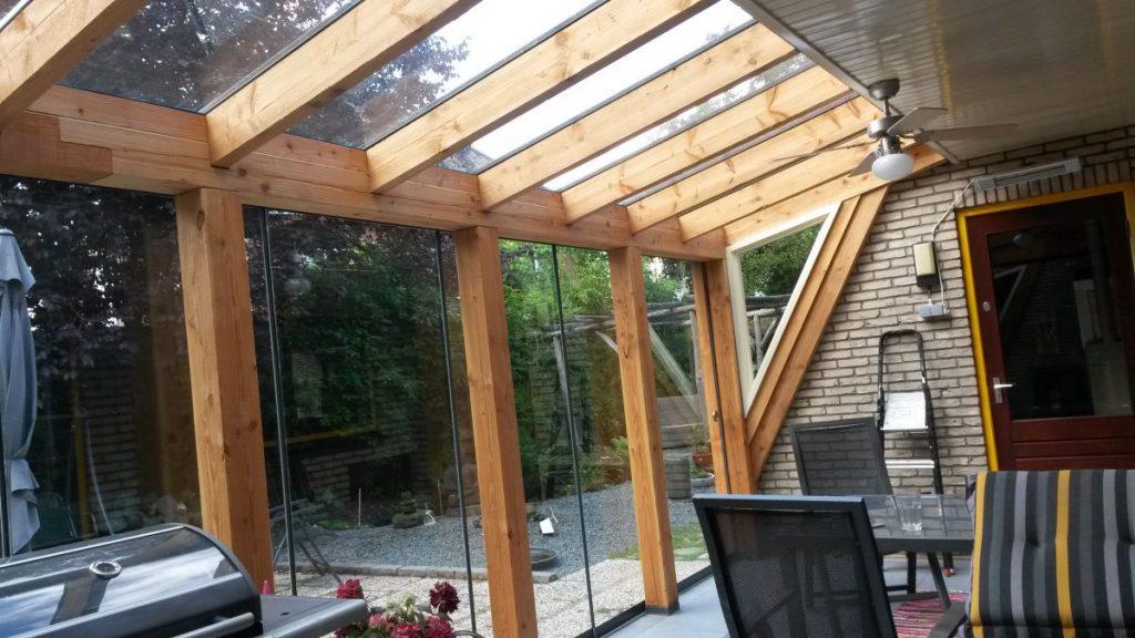 Exclusieve serre van glas gecombineerd met een veranda-005