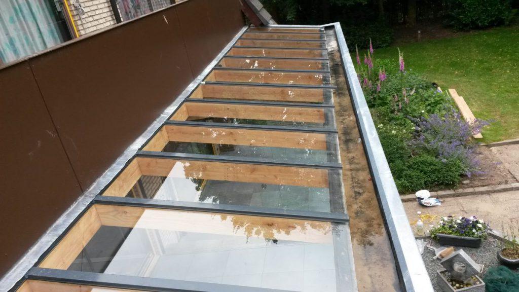 Exclusieve serre van glas gecombineerd met een veranda-006
